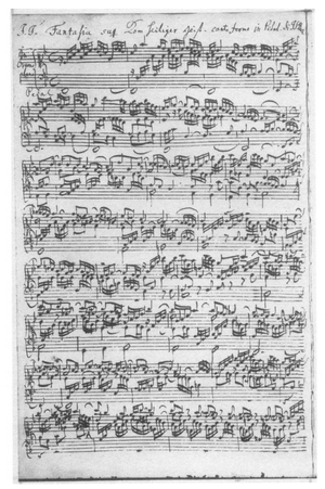 Great Eighteen Chorale Preludes - Image: Orgelwerke BWV651