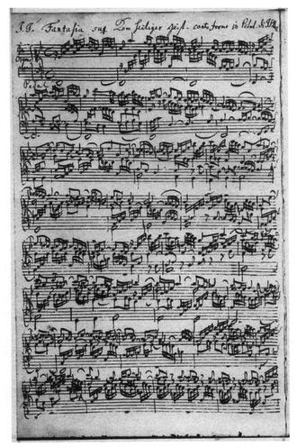 Great Eighteen Chorale Preludes - Image: Orgelwerke BWV651