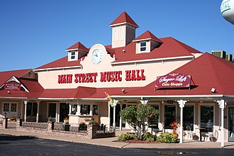 Osage Beach, Missouri - Main Street Music Hall