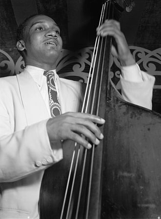 Oscar Pettiford - Pettiford at the Aquarium, New York City, in 1946