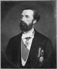 Oskar II, 1829-1907, kung