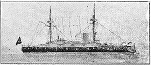 Osmaniye-class ironclad - Osmaniye after her reconstruction