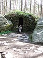 Ossian's Cave at The Hermitage, near Dunkeld - geograph.org.uk - 395711.jpg