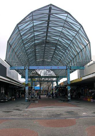 Otara - A part of the Otara town centre.