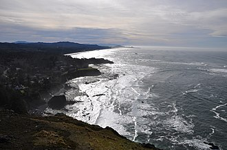 Otter Crest State Scenic Viewpoint - Image: Otter crest state scenic viewpoint
