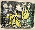 Otto Mueller Zwei sitzende Mädchen vor liegender Figur farbig.jpg