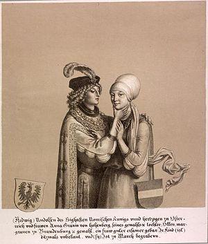 Hedwig of Habsburg - Image: Otto VI Hedwig Habsburg