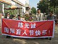 Our banner Happy International Day for the Blind Chen Guangchen!.jpg