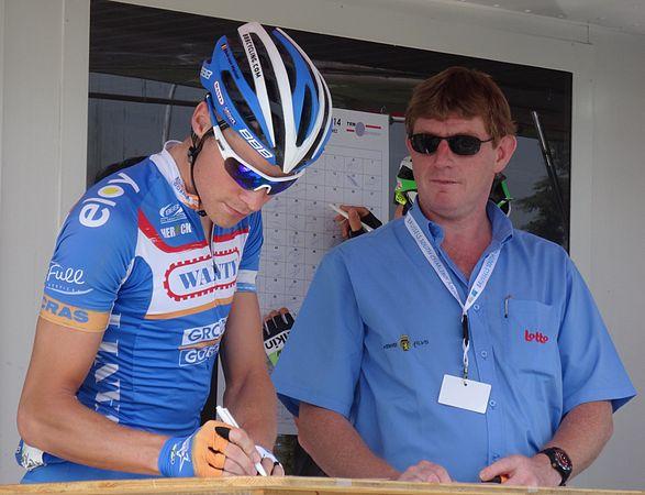 Péronnes-lez-Antoing (Antoing) - Tour de Wallonie, étape 2, 27 juillet 2014, départ (C107).JPG