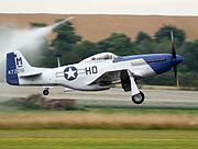 P-51D Mustang 'Miss Helen' G-BIXL - Flying Legends 2016 (27611481754).jpg