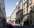 P1090593 Paris II rue Monsigny theatre des Bouffes-Parisiens rwk.JPG