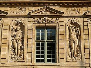 Hôtel de Sully - Image: P1200933 Paris IV hotel de Sully rwk