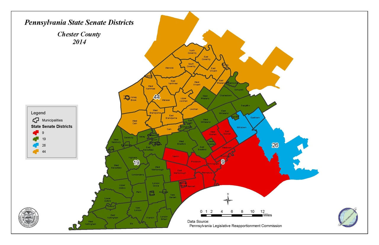 Filepa State Senate Districts Within Chester County Pdf