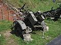 PKM-2 twin heavy anti-aircraft machine gun at the Muzeum Polskiej Techniki Wojskowej in Warsaw.jpg