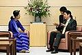 PM Abe with Aung San Suu Kyi April 2013 (2).jpg
