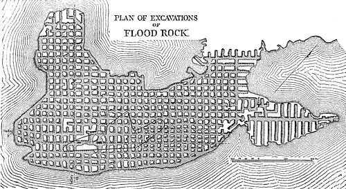 PSM V28 D456 Plan of excavations of flood rock.jpg