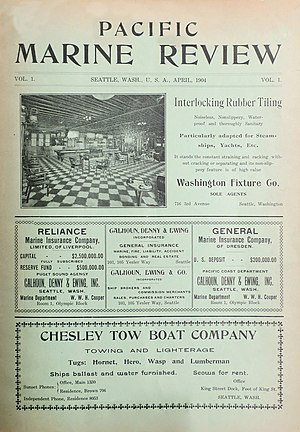 Pacific Marine Review - Image: Pacific Marine Review Cover April 1904