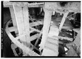 Paddle wheel, port side. - Ferry EUREKA, Hyde Street Pier, San Francisco, San Francisco County, CA HAER CAL,38-SANFRA,194-5.tif