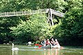 Paddling past Biblins Bridge on the River Wye - geograph.org.uk - 205098.jpg