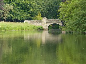 Weston Park - The Roman Bridge