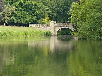 Weston Park - The Roman Bridge