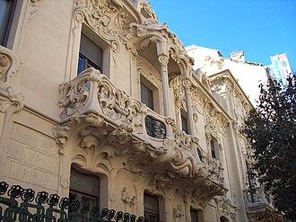 José Grases Riera - Palacio Longoria, 1903