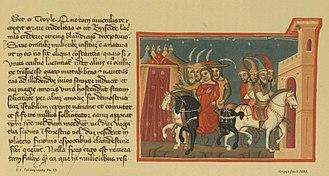 Guido delle Colonne - A Venetian copy of the Historia destructionis Troiae, ca. 1325