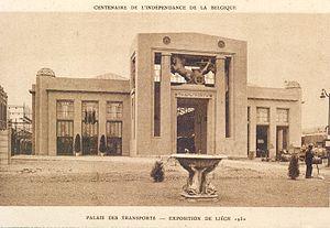 Exposition of 1930 (Liège) - Palais des transports