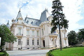 Craiova Art Museum - Constantin Mihail Palace, which now houses the Craiova Art Museum