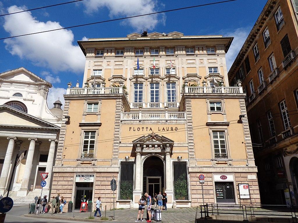 Palazzo Nicolò Lomellini à Gênes - photo de Superchilum