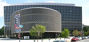 Pan American Health Organization - Pan American Health Organization building, Washington DC