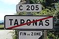 Panneau sortie Taponas 1.jpg