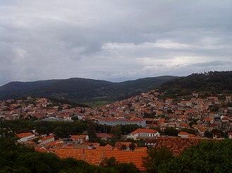Blato, Korčula - panorama of town