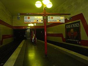 Bobigny – Pantin – Raymond Queneau (Paris Métro) - Image: Pantin Queneau quaicentral