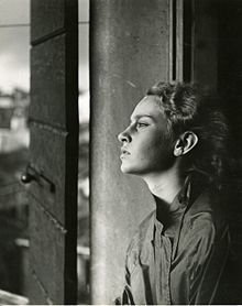 Portrait With Window Light By Italian Photographer Paolo Monti 1955