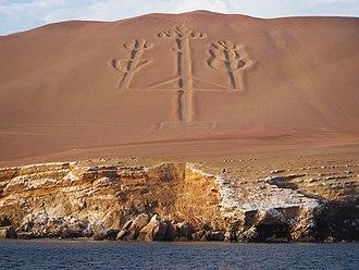 Paracas Peninsula - Paracas Candelabra