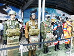 Parachuting Suits of ROC Airborne Special Operations Forces Display in Exhibition Booth 20130608.jpg