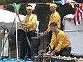 Parangal Dance Co. kulintang ensemble performing at 14th AF-AFC 1.JPG