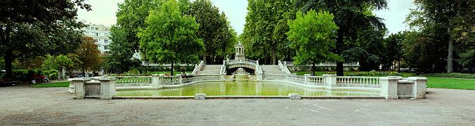 Jardin darcy wikimonde for Parc expo dijon