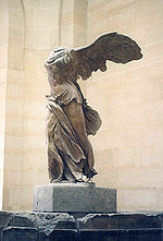 Victory of Samothrace, displayed in the Louvre (site plan number 9)