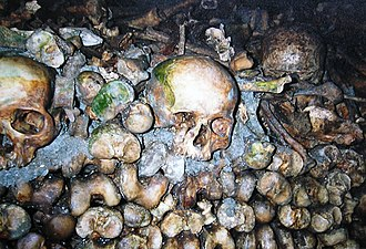 Catacombs - Paris Catacombs.