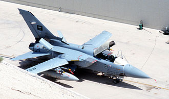 BAE Systems - One of 24 Panavia Tornado ADVs delivered to the Royal Saudi Air Force as part of the Al Yamamah arms sales.