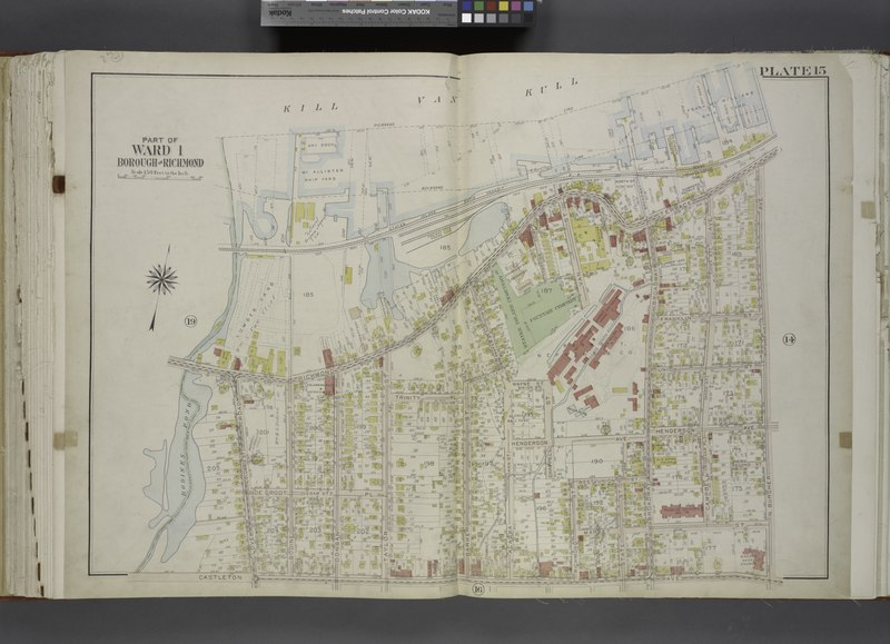 File:Part of Ward 1. (Map bound by Pierhead Line, N. Burgher Ave (Burgher Ave), Castleton Ave, Clove Road (Columbia St), Richmond Terrace) NYPL1646328.tiff