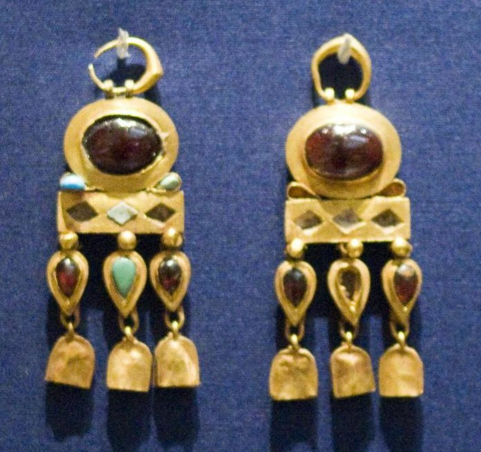 Parthian jewelry from Nineveh by Nickmard Khoey