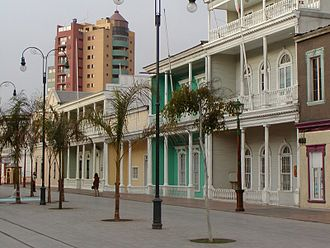 Iquique - Image: Paseo Baquedano