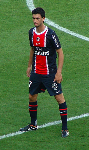 Javier Pastore - Pastore with PSG in August 2011