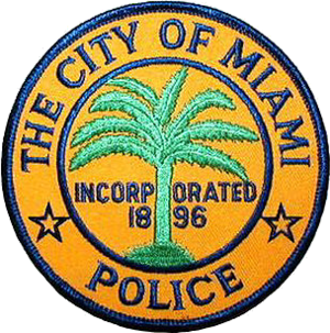Miami Police Department - Image: Patch of the Miami Police Department