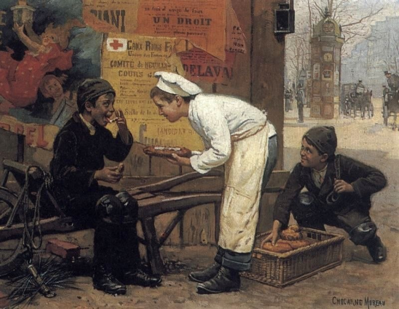 Paul-Charles Chocarne-Moreau The Cunning Thief