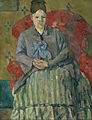 Paul Cézanne - Madame Cézanne in a Red Armchair - Google Art Project.jpg