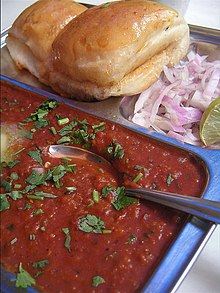 essay on my favourite dish pav bhaji